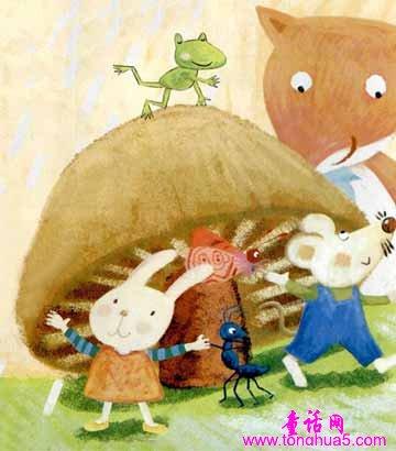 蘑菇雨伞-儿童故事-故事大全网