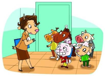 主页 儿童故事   很久很久以前,森林里的动物决定给孩子们办所学校